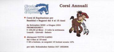 Corsi di Equitazione 2020 – 2021