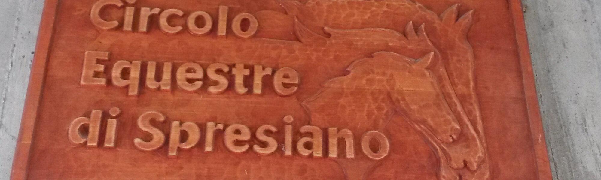 ...questo è Circolo Equestre di Spresiano!